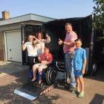 DAAN EN FAMILIE BEDANKEN CARE FOR LIFE MET PRACHTIGE BEDANKBRIEF