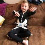 Geen operatie meer voor Hayden, mede dankzij de bijdrage van Care For Life voor een Molli Suit