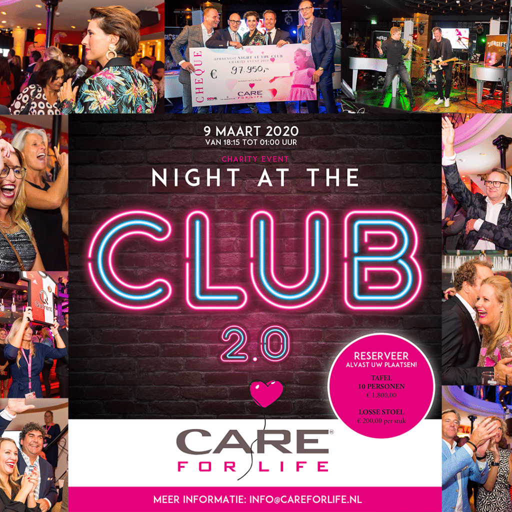 CARE FOR LIFE EVENT 9 MAART