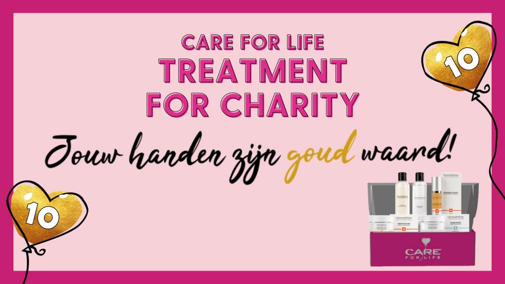 Doe mee met Treatment for Charity!